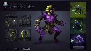dota2 faceless void ancient cultist polycount