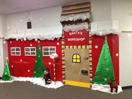 office christmas door decorations. Santas Workshop Christmas Door Decorations Office