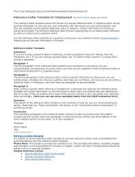 Awesome Immigration Recommendation Letter Template