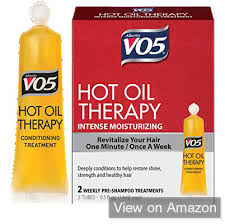 hot oil treatment for relaxed hair
