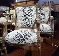 the wild side with animal print furniture