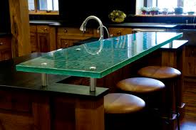 learn more and see photos of our glass tabletops and countertops