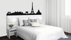 Superb Black And White Paris Bedroom What I Love Inspiration Bedroomheadboard  Decoration Full Bedroom Ideas