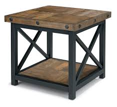 square end tables flexsteel carpenter square end table with wood