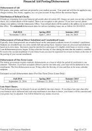 Pell Grant 2014 15 Chart Financial Aid Veterans Handbook Pdf Free Download