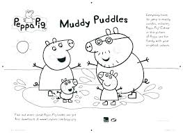 peppa pig printable coloring pages free colouring pdf