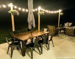 hanging outdoor patio lights hanging garden string lights exterior le lights outdoor patio rope lights