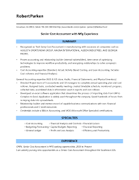 Summary Resume Resume Templates Cost Accountant Horsh Beirutufacturing Sample 88