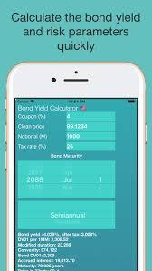 Tap Bond Yield Calculator By Alan Coman
