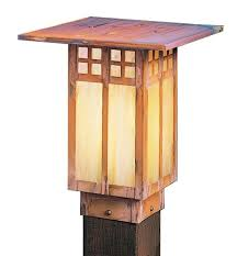 arroyo craftsman gpc 9 glasgow craftsman outdoor light post 9 inches tall arr