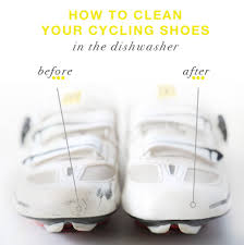 how to clean your cycling shoes