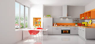 Modular Kitchen Handle Design Modular Kitchen Storage Cabinets With C Type Handle Ergo