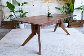 modern mid century walnut dining table in thecredhulk in miraculous mid century modern round dining table