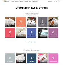 Office Tempaltes Download Templates For Excel Word Other Office Software