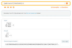the root can be computed on a graphing calculator using the math on or put into wolframalpha