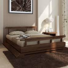 Kondo Teak Platform Bed