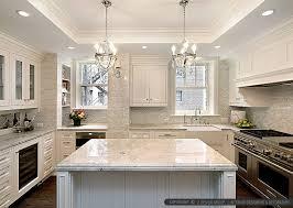 white kitchens backsplash ideas.  Backsplash WHITE KITCHEN WITH CALACATTA GOLD BACKSPLASH TILE Intended White Kitchens Backsplash Ideas L
