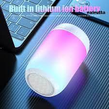 Loa Bluetooth 5.0 Phát Sáng Có Thể Sạc Được - Loa Bluetooth