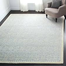 handmade light blue wool area rug moroccan rugs furniture and fixtures list in office