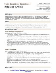 Operations Coordinator Resume Magdalene Project Org