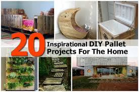 Diy Pallet Projects 20 Inspirational Diy Pallet Projects For The Home