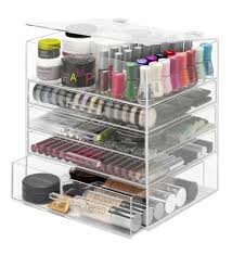 Piquant Acrylic Cosmetic Organizer And Giveaway Whitmor Tier Acrylic Cosmetic  Organizer Spoiled in Makeup Organizers