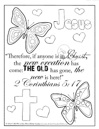 Small Picture Printable Bible Coloring Pages With Scripture glumme