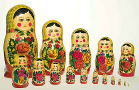russian wooden nesting dolls