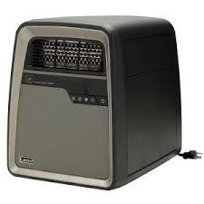 vornado ir400 1500 watt dual zone infrared electric portable 1500 watt electric portable cool touch infrared quartz heater remote control
