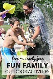 family outdoor activities. Free Or Nearly Outdoor Family Activities Outdoors