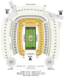 Steeler Game Seating Chart Nfl Football Stadiums Pittsburgh Steelers Stadium Heinz