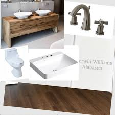 small windowless master bath which