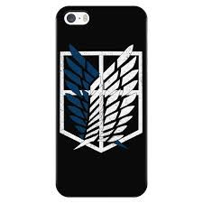 Attack on titan - survey corps logo - Iphone Phone Case - TL01192PC ...