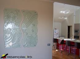transparent wall panels. Internal Transparent Art Panel With Feet And Running Waterhole Wall Panels A