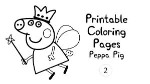 Peppa Pig Printouts Pig Printable Coloring Pages Pig Pig Peppa Pig
