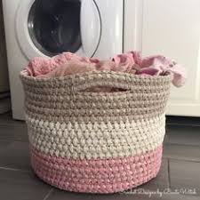 Free Crochet Basket Patterns Magnificent 48 Best Crochet Baskets Images On Pinterest Crochet Baskets