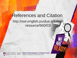 Citation And Referencing Docsity