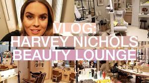 vlog a day at the harvey nichols beauty lounge marni keane