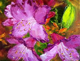flower paintings handmade livemaster handmade oil painting flowers rosemary flowers