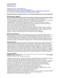 Personnel Recruiter Sample Resume Remote Recruiter Sample Resume Soaringeaglecasinous 9
