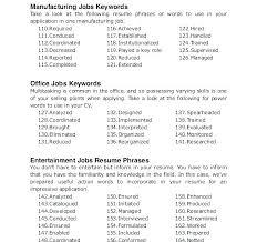 cover letter power words resume cover letter keywords cover letter key words resume cover