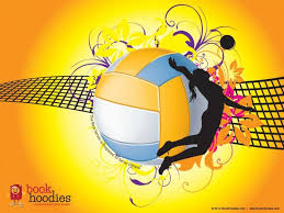 volleyball backgrounds 1024x768