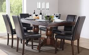 dark wood dining room furniture. mesmerizing 20 dark wood dining room 2017 design ideas of black furniture