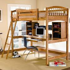 wood bunk bed with desk. Delighful With On Wood Bunk Bed With Desk K