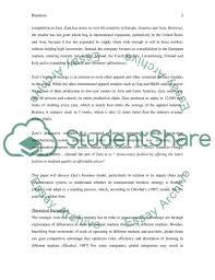 international business strategy of zara case study international business strategy of zara essay example