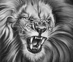 The King Drawing By Garvel Art Lion Nápady Na Tetování Tetování