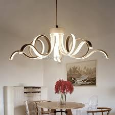 2017 new design modern ceiling lights for living room dining room d65cm acrylic aluminum led chandelier ceiling lamp fixtures modern pendant lights
