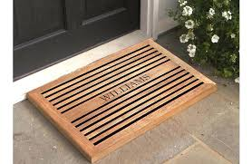 wooden door mat wood door mats floor wooden doormat nz wooden door mat