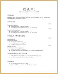 How To Make A Work Resume Make A Job Resume Mazard Info