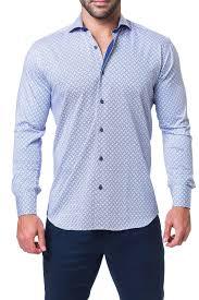 Maceoo Size Chart Maceoo Einstein Long Sleeve Trim Fit Shirt Nordstrom Rack